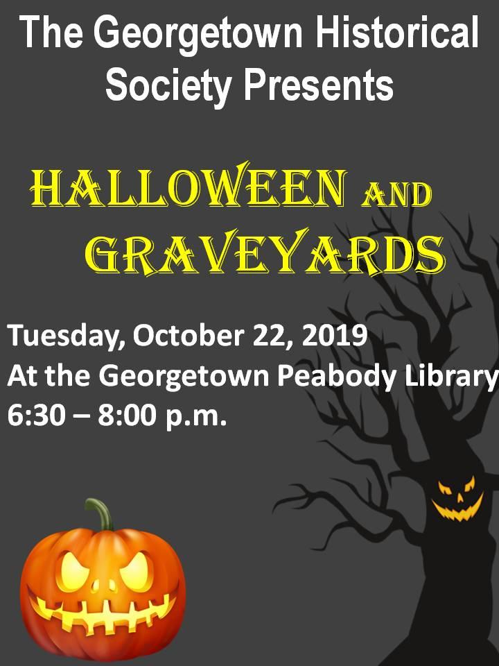Georgetown Library Halloween 2020 Georgetown Historical Society   Georgetown Peabody Library